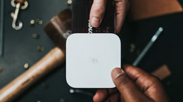 Credit card payment with Square