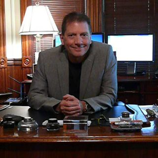 Al Decotiis sitting at his desk