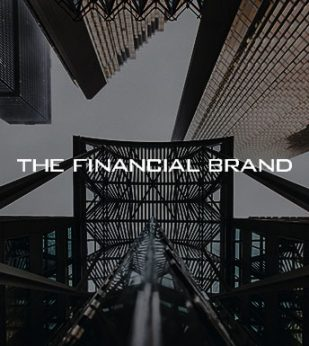 Financial Brand Logo overlayed on image of building
