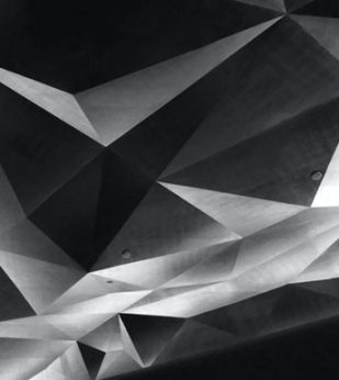 Shades and shapes of gray and black