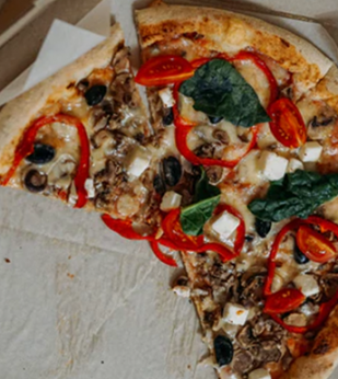 In-market breakthrough of ads from pizza QSRs